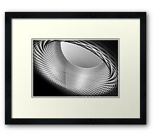The orifice Framed Print