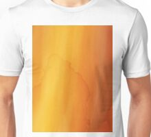 yellow watercolor texture Unisex T-Shirt