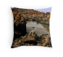 photoj Tas, Edge Of The World,  'Rock Texture' Throw Pillow
