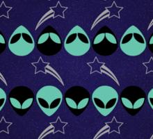 Aliens Exist (Purple) STICKER Sticker
