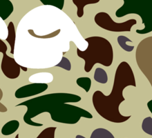 BAPECAMO Sticker