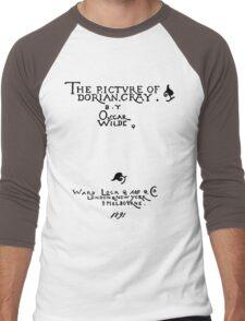 Picture of Dorian Gray 1809 Cover Men's Baseball ¾ T-Shirt