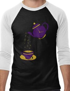 Tea Time Men's Baseball ¾ T-Shirt