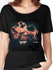 Trip-O-Vision Online Gallery Design 39: Fire Leaves Photography Women's Relaxed Fit T-Shirt