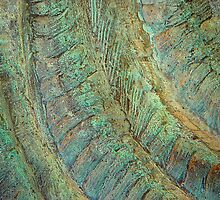Turquoise Textures  by clizzio