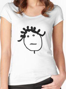 MUSIC : BADGALRIRI Women's Fitted Scoop T-Shirt