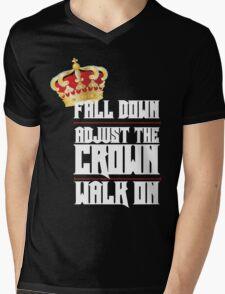 Fall Down, Adjust the Crown, Walk on 2 Mens V-Neck T-Shirt