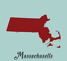 Massachusetts - States of the Union by Michael Bowman