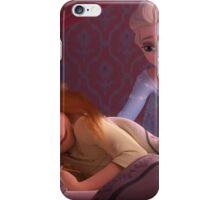 Elsa and Sleepy Anna iPhone Case/Skin