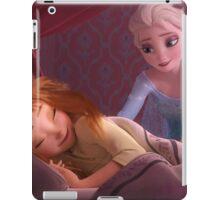 Elsa and Sleepy Anna iPad Case/Skin