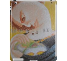 Band Aids - Abstract Portrait Of A Woman iPad Case/Skin
