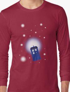TARDIS In Space Long Sleeve T-Shirt
