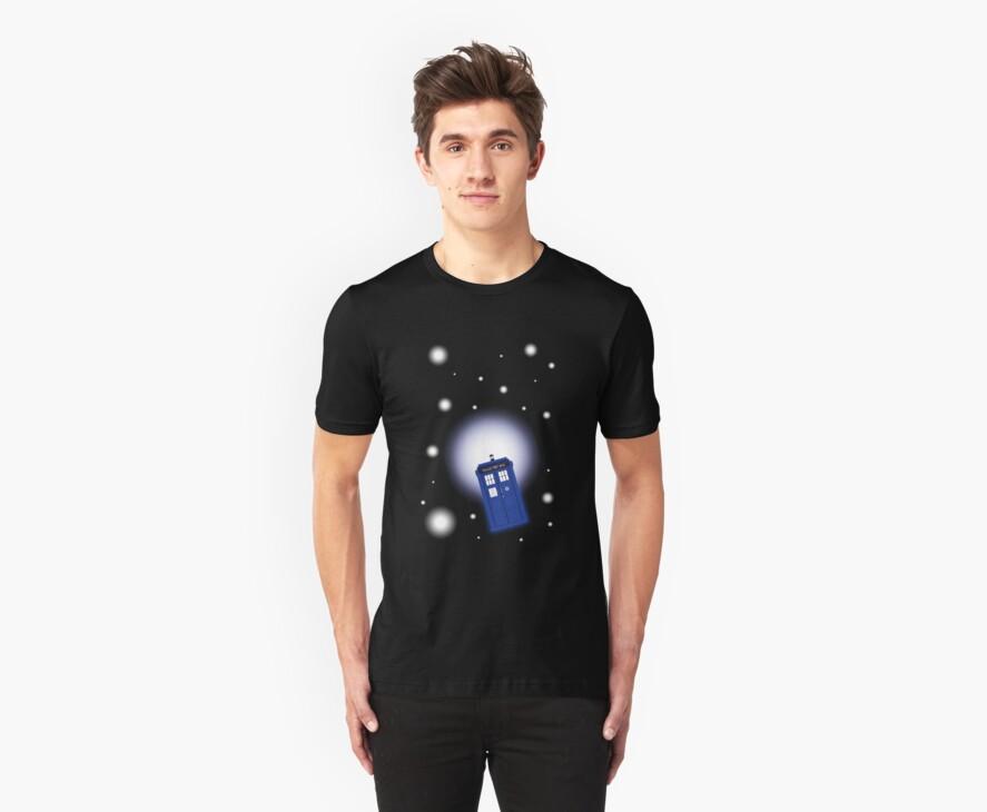 TARDIS In Space by sophiedoodle