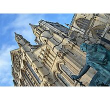 York Minster & Constantine the Great Photographic Print
