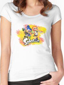 Splatoon Inklings Women's Fitted Scoop T-Shirt