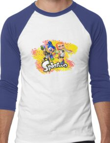 Splatoon Inklings Men's Baseball ¾ T-Shirt