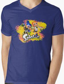 Splatoon Inklings Mens V-Neck T-Shirt