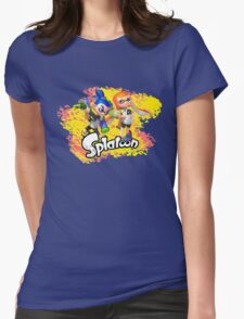 Splatoon Inklings Womens Fitted T-Shirt