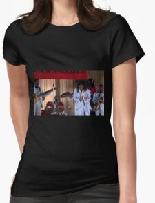Coming to America-Sexual Chocolate  Womens Fitted T-Shirt