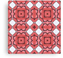 Lino Flowers Canvas Print