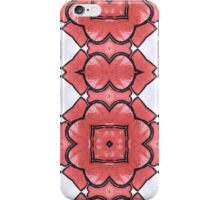 Lino Flowers iPhone Case/Skin