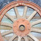 Old Wheel by Rachael Taylor