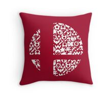 Brawl Throw Pillow