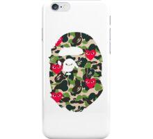BAPECAMO & HEARTS iPhone Case/Skin