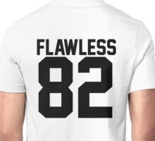 Flawless '82 Jersey (available in all t-shirt types, phone cases and stickers!) Unisex T-Shirt