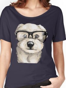 Nerd Dog  Women's Relaxed Fit T-Shirt