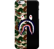 BAPESHARK & CAMO iPhone Case/Skin