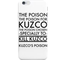 The Poison. in black iPhone Case/Skin