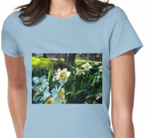SURREAL FLOWER FANTASY Womens Fitted T-Shirt