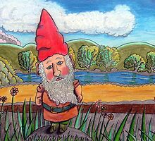 348 - THE GNOME - DAVE EDWARDS - COLOURED PENCILS - 2012 by BLYTHART