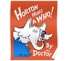 Horton Hears Doctor Who! Poster