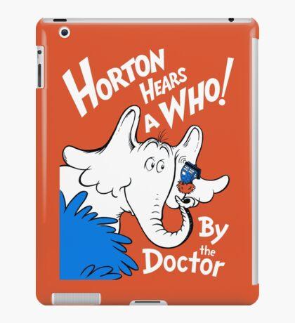 Horton Hears Doctor Who! iPad Case/Skin