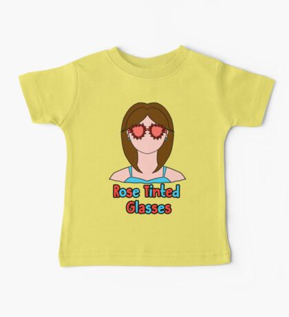 Rose Tinted Glasses Baby Tee