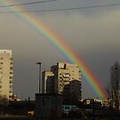 Rainbow over Sofia... by tonymm6491