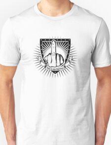 aggressive hand symbol Unisex T-Shirt