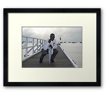 Male Model Citizen Framed Print