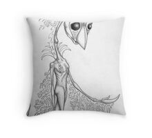 Sillustria Throw Pillow