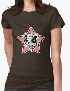 Jigglypuff Girl! Womens Fitted T-Shirt