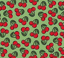 CHERRY - GREEN by tosojourn