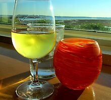 Pinot with a View by Darlene Lankford Honeycutt