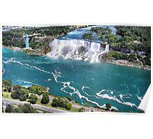Niagara Fall from the air part 2 us fall Poster