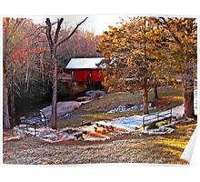 South Carolina's Only Covered Bridge Poster