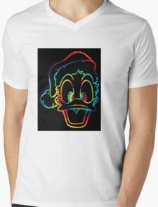tyeduck Mens V-Neck T-Shirt