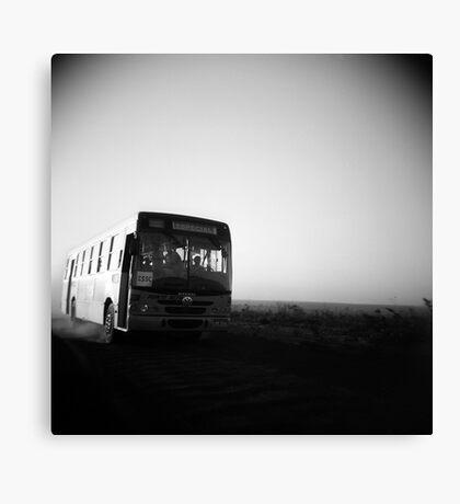 Dusty Ride Canvas Print