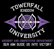 Towerfall Kingdom University (Distressed) by Nguyen013