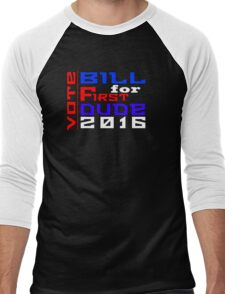 Vote Bill for First Dude 2016 Men's Baseball ¾ T-Shirt